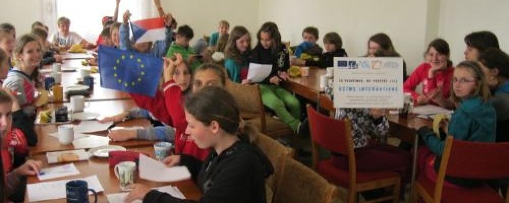 Jazykový kurz Lhotka u Černovic 2013