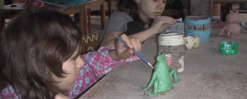 Naše cesta za keramikou